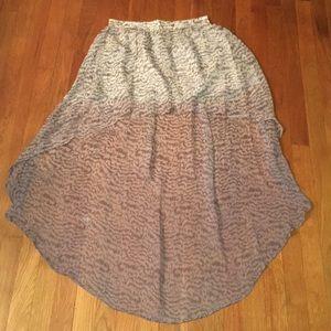 Gypsy silk skirt